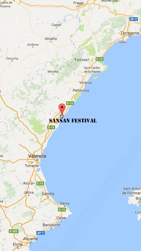 Como Llegar SanSan Festival Coche