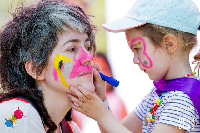 Pinta caras Formigues Festival