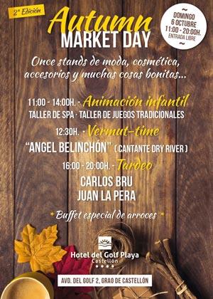 2ª Edición Autumn Market Day en Hotel del Golf Playa