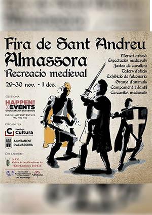 Fira Medieval de Sant Andreu d'Almassora 2019