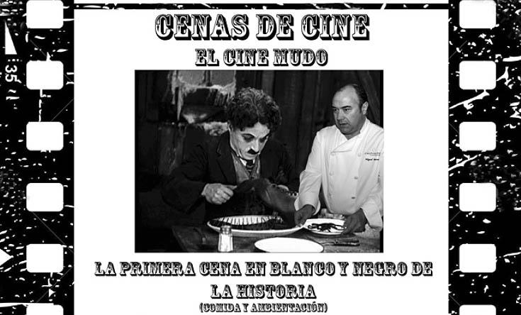Cine y gastronomía se unen en la primera cena en 'blanco y negro' de la historia en Castellón