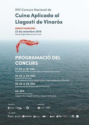 Concurso Nacional de Cocina Aplicada al Langostino de Vinaròs 2019