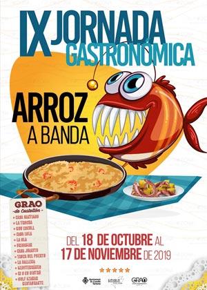 IX Jornada Gastronómica del Arroz a Banda Grao de Castellón