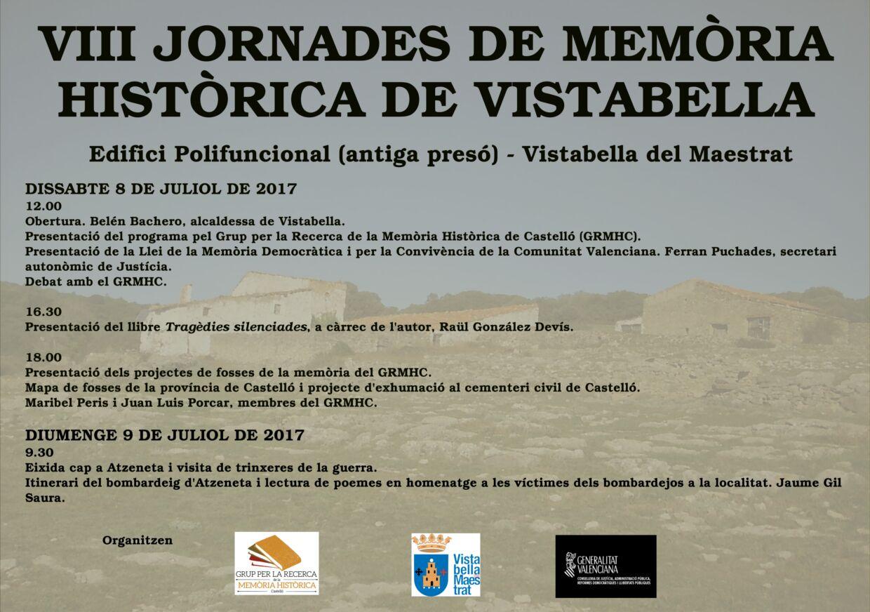VIII Jornadas de la Memoria Histórica de Vistabella del Maestrat