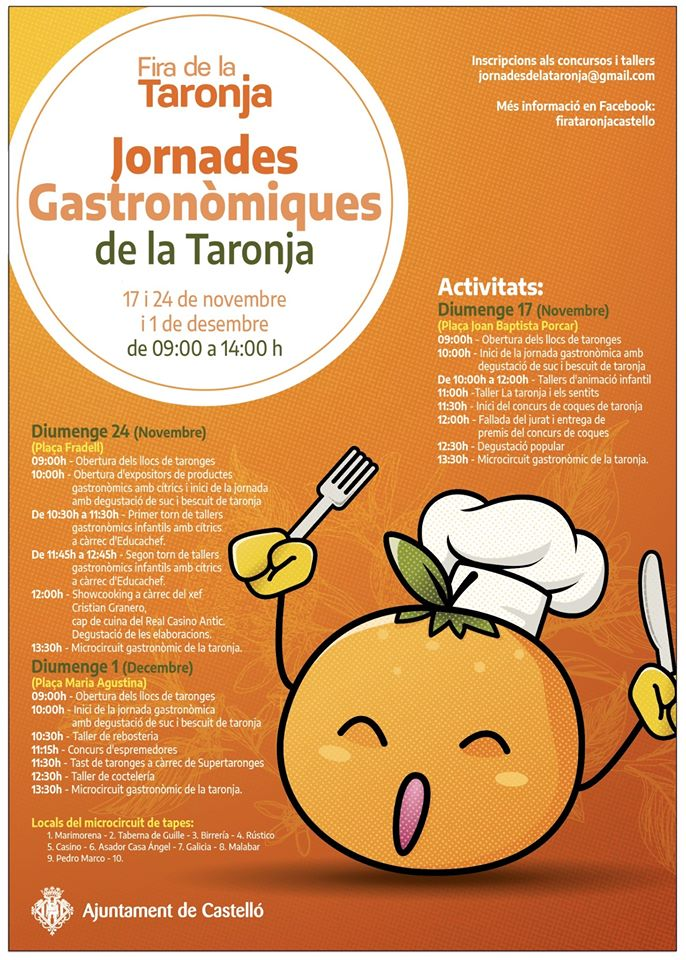 Jornades Gastronómiques de la Taronja de Castellón