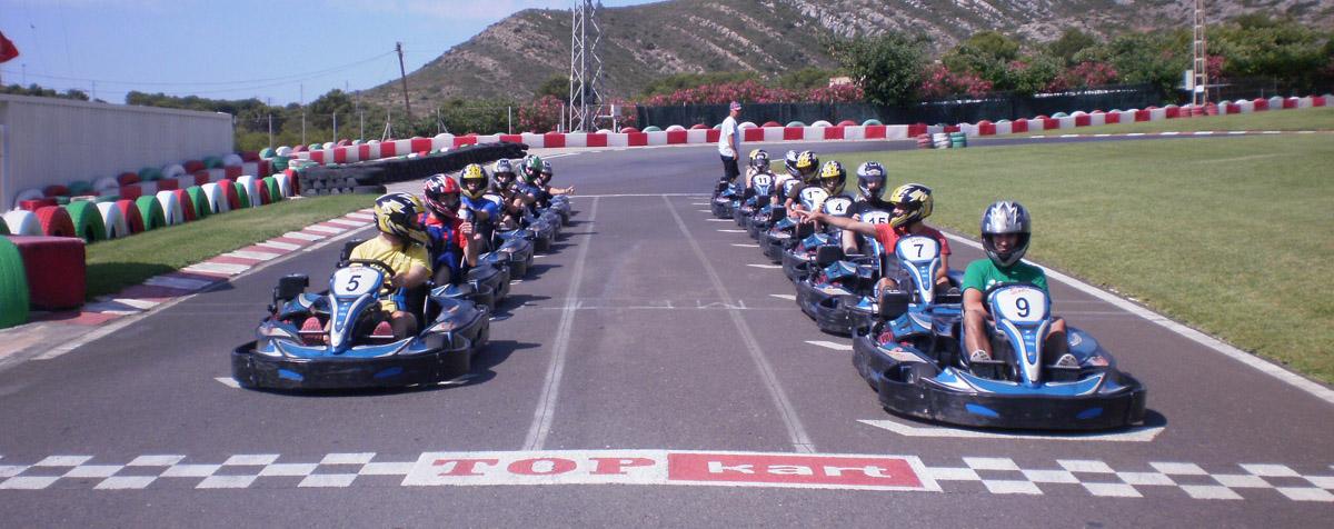 Carrera de Karts Oropesa - Castellón