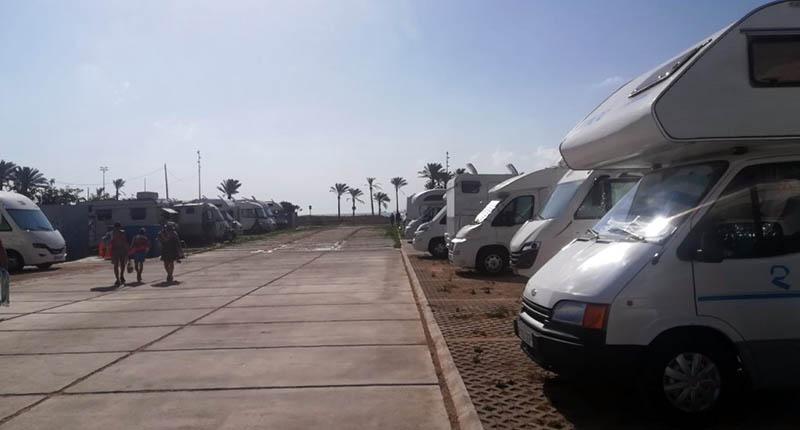 Espacios para autocaravanas en la provincia de Castellón