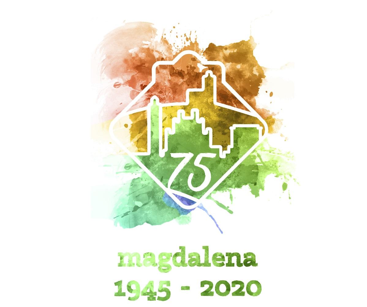 Logo 75 aniversario Magdalena