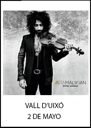 Ara Malikian en Vall d'Uixó
