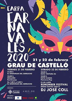 Actuaciones en Carnaval del Grao de Castellón 2020