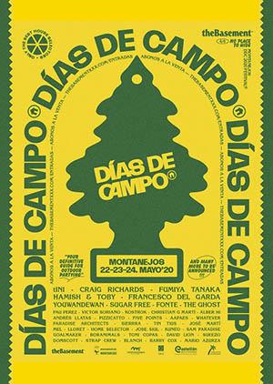 Cartel Días de Campo Montanejos 2020