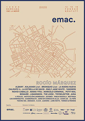 Cartel EMAC 2020 Buriana