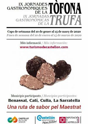 IX Jornadas Gastronómicas de la Trufa