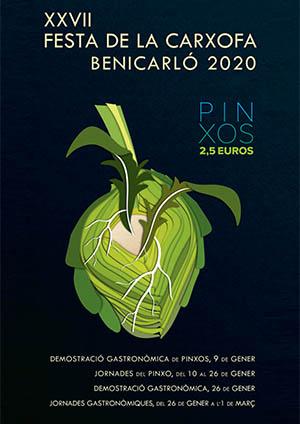 Fiesta de los pinchos de alcachofa Benicarló 2020