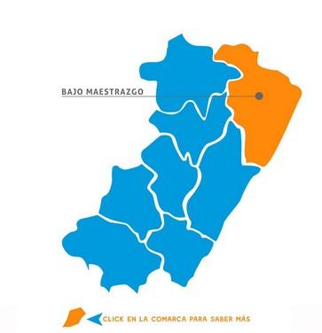 Comarcas Castellón Bajo Maestrazgo