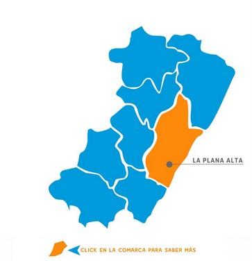 Comarcas Castellón La Plana Alta