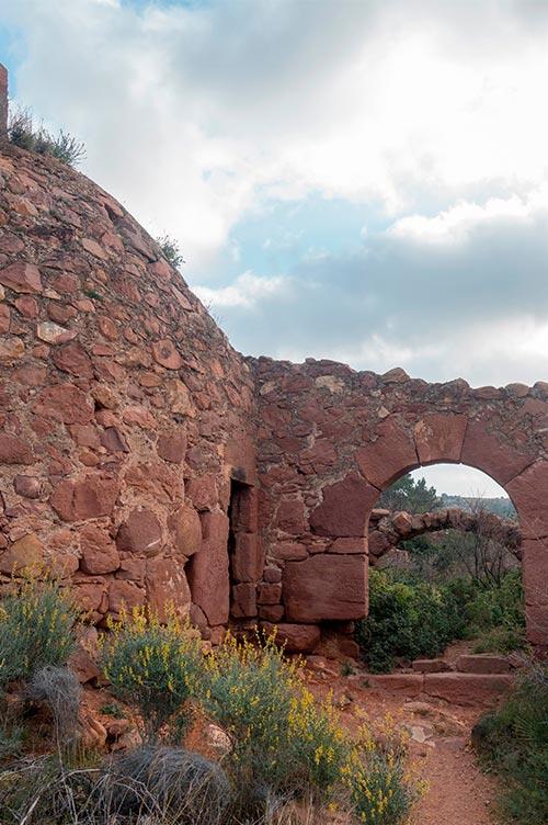 Desierto de las Palmas Ruinas Castellón