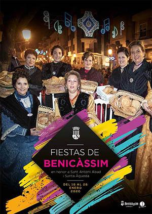 Fiestas de San Antonio y Santa Águeda en Benicasim