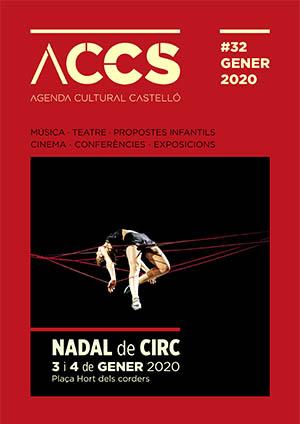 Agenda cultural enero 2020 Castellón