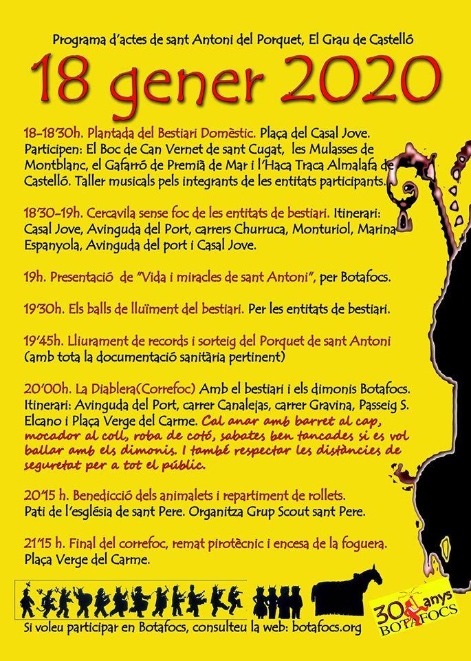 Programa Sant Antoni del Porquet