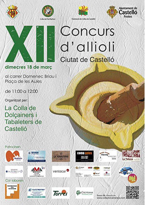 XII Concurso de allioli