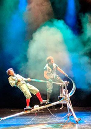 Teatro «El viaje de Ulises»