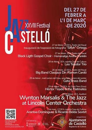 El XXVIII Festival de Jazz de Castelló