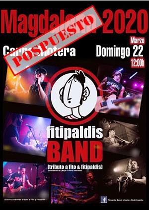 Tributo a Fito Fitipaldis a cargo de Fitipaldis Band