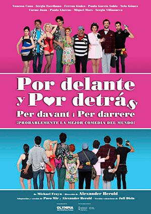 Teatre «Por delante y por detras»