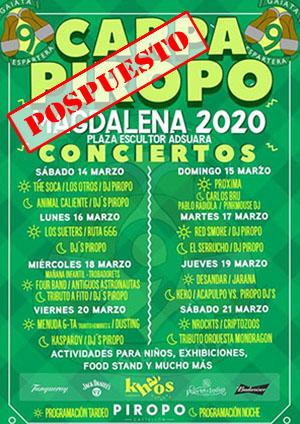 Carpa Piropo Fiestas Magdalena Castellón 2020