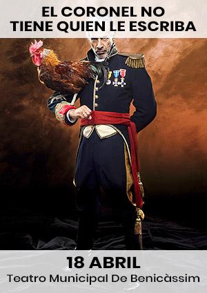 Teatro 'El coronel no tiene quien le escriba'