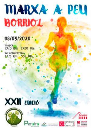 XXII Marxa a Peu per Borriol