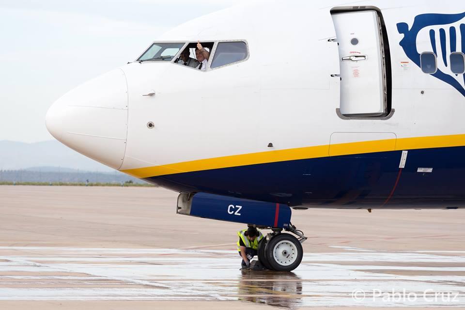 Aeropuerto de Castellón estaciona aviones en sus instalaciones