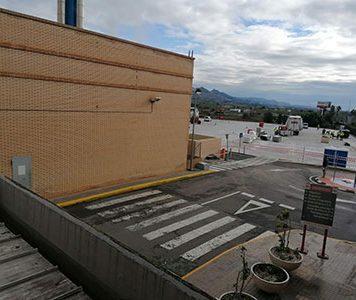 Hospital de campaña en Castellón
