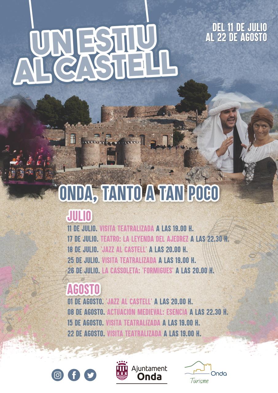 CASTILLO DE ONDA, JAZZ, TEATRO Y MAS