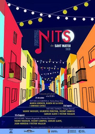 FESTIVAL NITS DE SANT MATEU