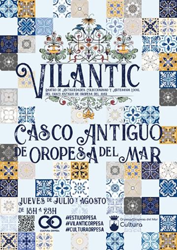 RASTRO DE ANTIGÜEDADES VILANTIC,OROPESA DEL MAR