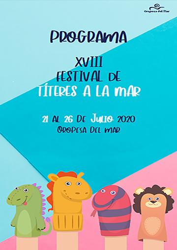 XVIII FESTIVAL DE TÍTERES A LA MAR
