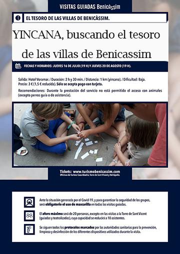 EL TESORO DE LAS VILLAS DE BENICASSIM (YINCANA)