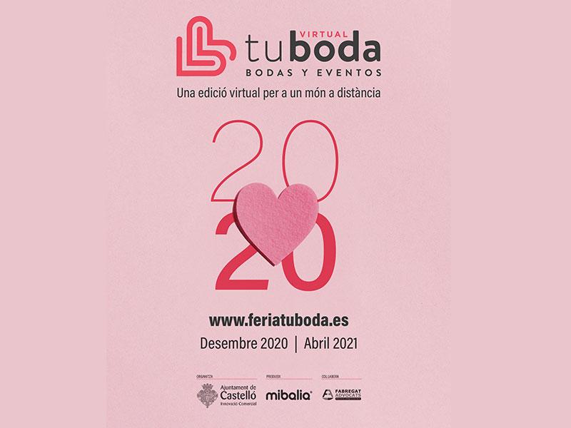 Castellón organiza la Feria Tu Boda a través de un portal web que reunirá a unos 70 expositores