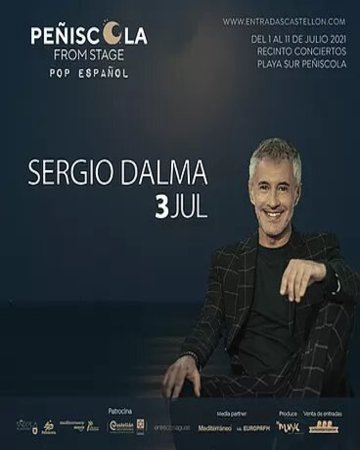 Sergio Dalma Peñiscola From Stage