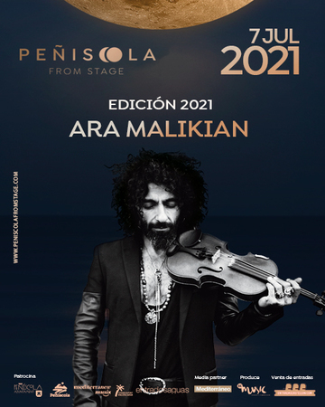 Ara Malikian Peñiscola From Stage