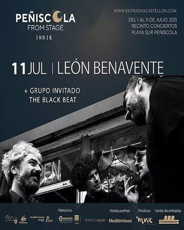 León Benavente Peñiscola From Stage