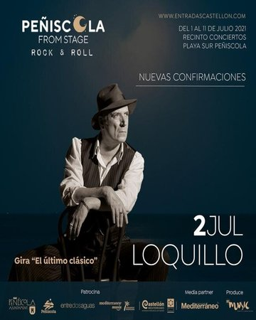 Loquillo Peñiscola From Stage