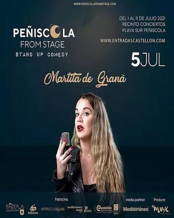 Martita de Graná Peñiscola From Stage