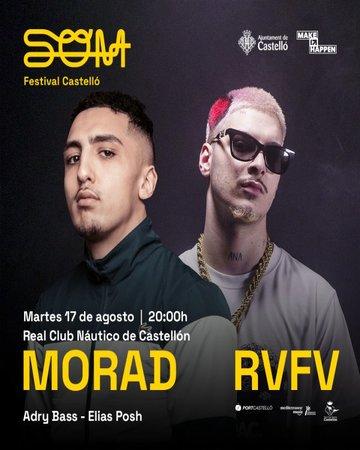 Morad y RVFV, nuevas confirmaciones para SOM Festival