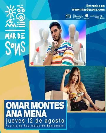 Ana Mena y Omar Montes, Mar de Sons