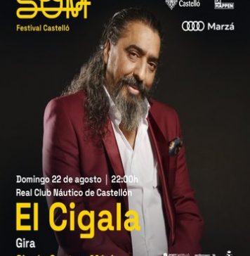 Diego 'El Cigala' teñirá SOM Festival del mejor flamenco