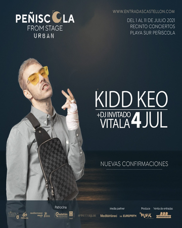 Kidd Keo Peñiscola From Stage