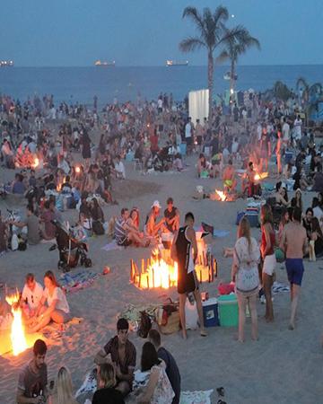 San Juan sin playa a partir de las 20:00 horas